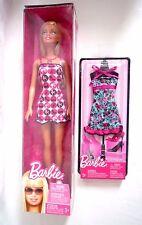 Vestido De Verano verano Moda Muñeca Barbie Mattel R4185 con Extra/Nuevo