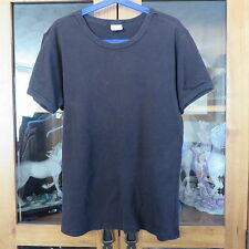 Calvin Klein Plain Black T shirt size S excellent