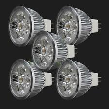 5PCS New LED Spotlight Bulb Lmap MR16 4W 12V Warm White Spot Light Energy Saving