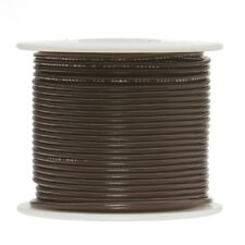 "20 AWG Gauge Stranded Hook Up Wire Brown 250 ft 0.0320"" UL1007 300 Volts"