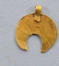 Viking LUNNAR Luna en forma de colgante de oro 24k
