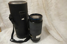 Carl Zeiss Jena MC Macro Jenazoom 75-300mm 4.5-5.6 lens for Minolta MD fit
