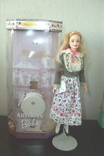 BARBIE DOLLS OF THE WORLD COLLECTOR EDITION AUSTRIAN #21553 1998