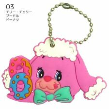 YUMYUMS Key Cover Chilly Cherry Poodle Donut F/S with tracking no from Japan