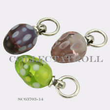 Authentic Trollbeads Silver Decorative Egg Kit - 3 Beads SC63703  *14*