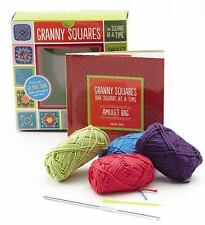 NEW Granny Squares, One Square at a Time / Amulet by Margaret Hubert (English) F