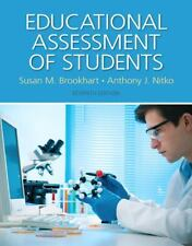 Educational Assessment of Students by Nitko and Brookhart (7thEd, w/access card)