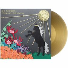 Big Business Command Your Weather GOLD VINYL LP Record & MP3! melvins members!!!