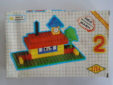BRICKS, for children 5 + years old PSC NR2. VINTAGE GREECE TOYS.NO TOXIC 9 INTS