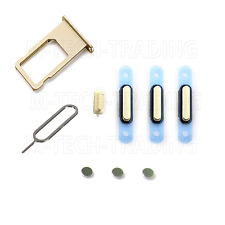 Original gold power volume mute bouton simtray set & code PIN de contacts pour iPhone 6