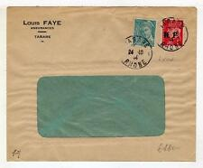 A4801) FRANCE 1944 Cover from Tarare