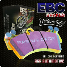 EBC YELLOWSTUFF FRONT PADS DP4291R FOR FORD ESCORT MK2 1.6 75-80