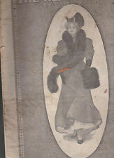 Hearthstone Magazine February 1907 Well-Dressed Woman Cover Lizzie M Shaw