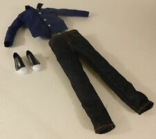 Ken Doll Outfit  Shirt Jeans Sneakers New deboxed Original Clothes  Accessories