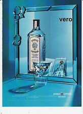 BOMBAY SAPPHIRE 2005 magazine ad London Dry Gin alcohol advertisement print vtg