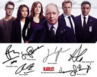 The Blacklist S2 James Spader Megan Boone Cast Signed Photo Autograph Reprint