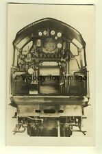 ry457 - Cab of LNER High Pressure Compound Express Locomotive no10000 - postcard