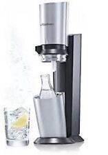 SodaStream Wassersprudler Crystal  titanfarbig Umsteiger Paket, ohne Zylinder