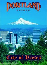 Portland Oregon Mt. Hood United States America Travel Art Poster Advertisement