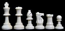 "USCF Sales Analysis Plastic Chess Set - 2.5"" King"