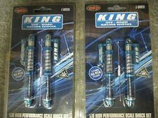 King Shocks RC4WD Wraith Kit 110mm 100mm Off Road Piggyback Scale 2 Pairs