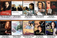 10x Drama DVD MOVIES Trial by Media, Crossing the Line, Final Justice and more!