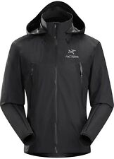 Men's Arcteryx Beta LT Hybrid Black Jacket Size Med Gore-Tex Model 13649