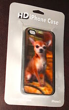 NEW 3D iPhone 5 Case. Deep 3D Effect Chihuahua Dog, Colorful, Novel, Unique, Pro