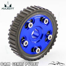 Adj Cam Gear Pulley Timing Gear For Honda SOHC D15 D16 D-Series Engine Blue