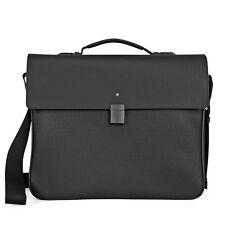 MontBlanc Extreme Single Gusset Briefcase - Black