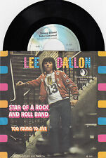 "LEE DALLON STAR OF A ROCK AND ROLL BAND 1974 RECORD YUGOSLAVIA 7"" PS 45rpm"
