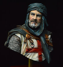 1/10  Sean Connery templar bust resin model kit figure