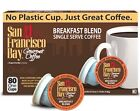 San Francisco Bay Coffee One Cup for K-Cup Brewers, PICK ANY FLAVOR 36-160 Count