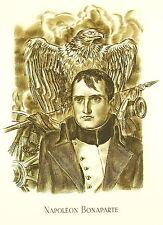 Napoléon Bonaparte par Albert Decaris gravure sur cuivre 52 cm 1952 31/33