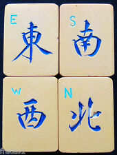 Vtg NEWS Chinese Bakelite Mahjong Tile Wind Indicator Joker Replacement Mahjongg