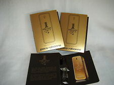 1 MILLION BY PACO RABANNE EDT THREE-  0.05 OZ., 1.5 ML. SAMPLE SPRAYS