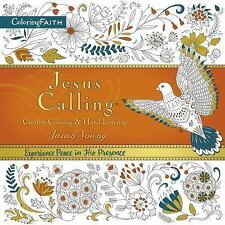 Coloring Faith: Jesus Calling Creative Coloring and Hand Lettering by Sarah...