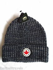 ROOTS CANADA Boys Girls 3-5 CHUNKY KNIT Watch Cap Beanie Hat Tuque Fog BLUE IRIS