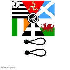 Celtic Nations Flag 5 x 3 Ft Flag Poles Or Windsocks Poles. WITH Free Ball Ties