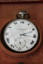 VINTAGE AND INTERESTING TAVANNES WATCH   CYMA  IN THE BOX  SILVER