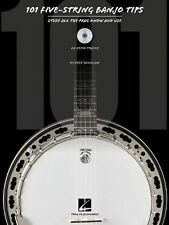 101 5 Five-String Banjo Tips Play Styles Tips Lesson Tutor Music Book & CD