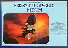 FOTOBUSTA 7, BRISBY E IL SEGRETO DI NIMH The Secret of NIMH, DISNEY POSTER