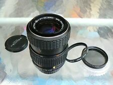 SMC PENTAX-M 40-80MM F2.8-4 ZOOM LENS W/ TWO FILTERS *EXCELLENT