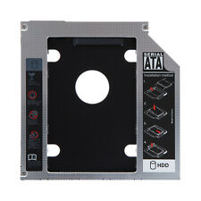 "SATA 2nd SSD HDD 2.5""  Hard Drive Caddy For Laptop 12.7mm CD/DVD-ROM Optical Bay"
