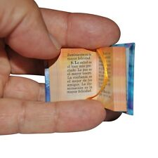 New Miniature Book El Nectar del Coran w/stand in Spanish hardbound 302 pag