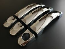 PREMIUM CHROME DOOR HANDLE COVERS VW TRANSPORTER T5 T6 CARAVELLE VW CADDY VAN
