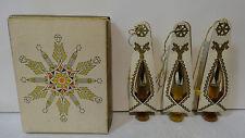 Vintage Avon 1965 Fragrance Ornament Perfume Oils - Unforgettable, Cotillion,