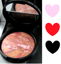 New LAURA GELLER Baked BLUSH N Brighten ~APRICOT BERRY~ Coral Berry Pink Full Sz