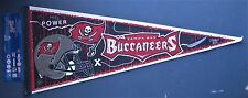 "TAMPA BAY BUCCANEERS PENNANT 12"" x 30"" NEW NFL WINCRAFT SPORTS FREE US SHIPPING"