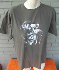 Call of Duty GHOSTS Olive T-Shirt Video Gamer Size Large